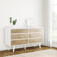Carson Carrington Madrid Light Charcoal 6-drawer Dresser - Free Shipping Today - Overstock.com - 80005302