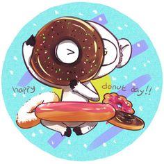 velvetsora:  happy donut day!