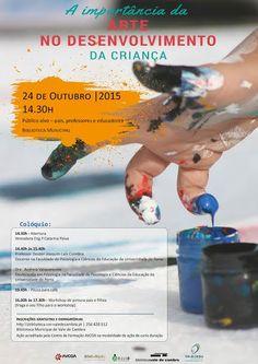 Colóquio - A importância da Arte no Desenvolvimento da Criança > 24 Outubro 2015 - 14h30 @ Biblioteca Municipal de Vale de Cambra