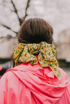 Silk Scarves in Wint
