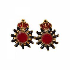 Lacrom Store || ghingi mingi goi, accessories, vintage, earrings  Earrings with vintage coat of arms. Hypoallergenic closure