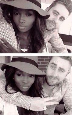 Black Girl White Boy Love ][ Jamie and Nikki.