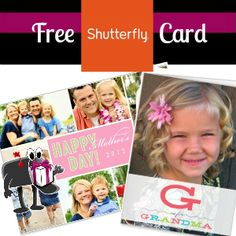 Order your FREE SHUTTERFLY CARD for Mother's Day or any event coming up - it will cost 99 cents shipping (ends April 2) http://freebies4mom.com/2013/03/29/card-2/