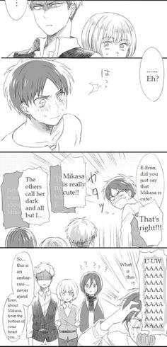 ErenxMikasa Part 2 Mikasa Anime, Mikasa X Eren, Armin, Attack On Titan Meme, Attack On Titan Fanart, Attack On Titan Ships, Rivamika, Eremika, Levihan