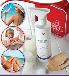 For Burns and Cuts Aloe First Soothing Spray. Shop online at www.achieveyourdream.flp.com or call - 007038854138