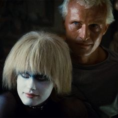 Blade Runner is a 1982 American dystopian science fiction action film directed by Ridley Scott and starring Harrison Ford, Rutger Hauer, and Sean Young.