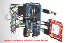 TEMPERATURE SUPERVISOR WITH SMS ALARM SYSTEM using Arduino, itbrainpower.net 3G / GSM shields and 1WIRE TEMPERATURE SENSOR