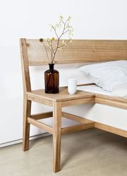 Mieke Meijer  Bed Blend, 2009  Bed and chair merged into one new object.