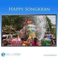 Very Happy #Songkran To Everyone in #Thailand.