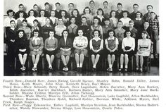 Members of the Bluffton High School class of 1948 posed as sophomores in the 1946 Buccaneer - 70 yearbooks ago.