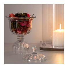 KONSTNÄRLIG Potpourri in glass cup  - IKEA
