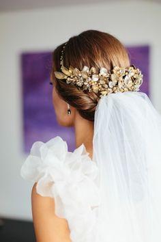 inspiracin para novias se lleva el velo - Peinados De Novia Con Velo