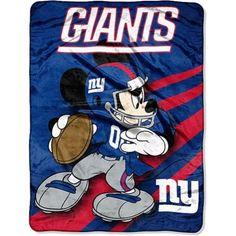 Disney New York Giants Plush Throw
