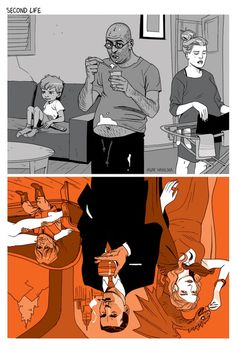 Tomer Hanuka and Asaf Hanuka are two distinguished artists from Israel, who are famous for their successful and sarcastic illustrations. Colorful, with a lot of depth visualizations that portray what is wrong with society today. Tomer Hanuka, Issues In Society, Satirical Illustrations, Bd Comics, Art Graphique, Cartoon Styles, Caricature, Creative Art, Amazing Art
