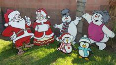 Christmas Yard Art, Lawn Sign, Ronald Mcdonald, Holidays, Signs, Cards, Fictional Characters, Decor, Holidays Events