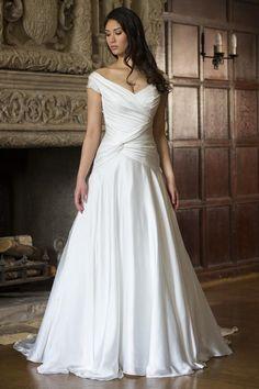 Augusta Jones - Victoria | StarDust Celebrations | Wedding | Wedding Gown | Wedding Dress | Bridal | A-line Gown | Dallas |
