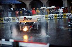 Ayrton Senna, Toleman TG184, GP Monaco 1984