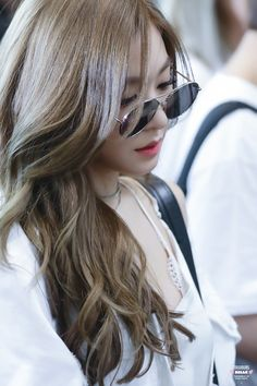 """Tiffany Hwang, also known as Tiffany Young is an American singer, well known as a member of the Korean band """"Girls' Generation"""". Tiffany Girls, Snsd Tiffany, Tiffany Hwang, Girls' Generation Tiffany, Girls Generation, Pink Girl, My Girl, Korea Fashion, Airport Fashion"""