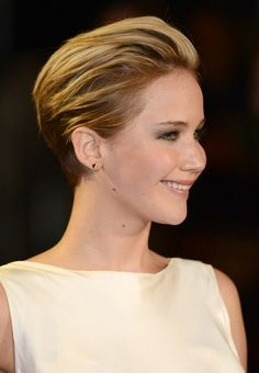swept back short hairstyles - Google Search
