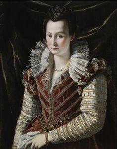 Portrait de Bianca Capella by Alessandro di Cristofano Allori