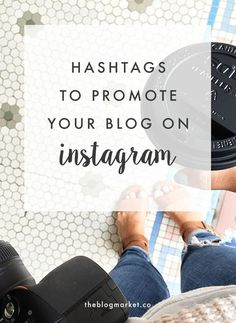 AMAZING collection of hashtags to promote your blog and posts on Instagram divided into categories. Happy hashtagging! #smt