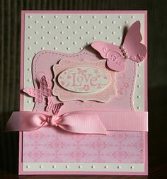 You Are Loved Stampin' Up! Valentine Krystal De Leeuw