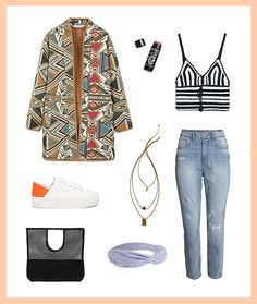 3 Unexpected Ways to Wear Your Festival Crop Top in Real Life via Brit + Co