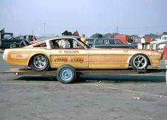 Mustang Funny Car.