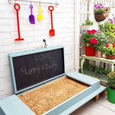 DIY Childrens Sandpit