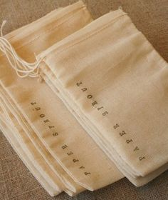 Stamped muslin bags - Tap on the link and check out my store and keep up to date with the latest must-haves at no bullshit prices! We specialize in sourcing high-quality products and zero shipping costs so you know who to trust. Soap Packaging, Pretty Packaging, Brand Packaging, Packaging Design, Branding Design, Clothing Packaging, Jewelry Packaging, Packing Jewelry, Muslin Bags