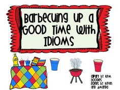 FREEBIE! This is a cute center activity where the student match 15 common idioms on red solo cups with their meanings on blue solo cups. I have also include...