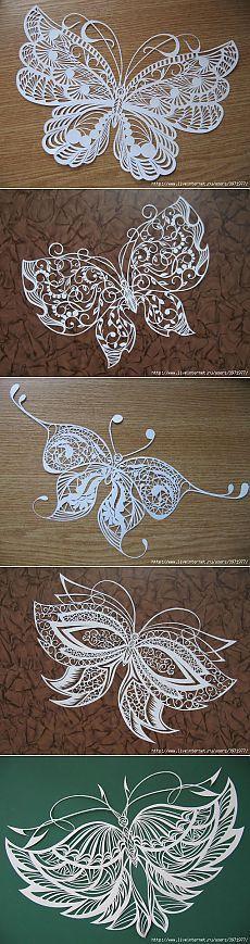 Изумительной красоты бабочки Анастасии Махнач.