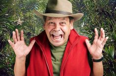 Craig Charles on the ITV show I'm A Celebrity ... Get Me Out Of Here!