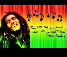 Bob marley music quote