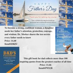 http://www.newtestamentlife.com/item/meeker-meg/strong-fathers-strong-daughters/418652.html http://www.newtestamentlife.com/item/tom-limbert/dads-playbook/4793128.html