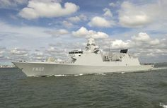 Four De Zeven Provincien (LCF) air defence & command frigates have been commissioned into the Royal Netherlands Navy between 2002 & 2005.