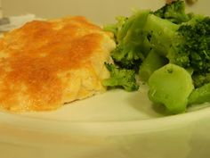 Ginny's Low Carb Kitchen: Chicken Parmesan Bake and Broccoli with Lemon Garlic Butter