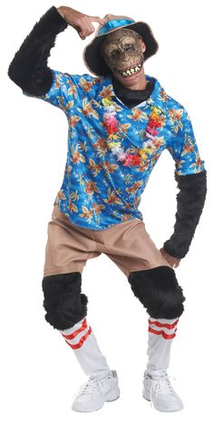 One of our funniest costumes! Hat, Mask, Shirt, and Pants. One size fits most. Box Dimensions (in Inches) Length : 19.00 Width : 14.00 Height : 4.00
