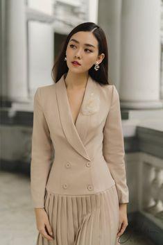 Tuxedo Dress, Blazer, Jackets, Dresses, Women, Style, Fashion, Down Jackets, Vestidos