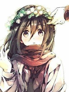 flower anime girl wallpaper hd - Google Search