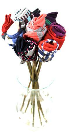 A bouquet... of socks. jimmylion.com