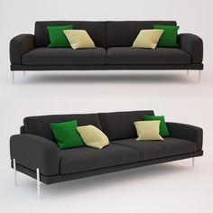 3ds max ire armilla sofa