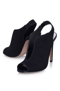**ESME Black High Heel Sandals by Miss KG