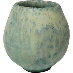 1930s Van Briggle Miniature Vase with Experimental Glaze @rubylanecom #VintagePottery #rubylane