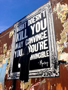 13 | If You're Reading This, There's Still Time: Morley Cuts Through Clutter With Kinder, Gentler Street Art | Co.Create | creativity + cult...