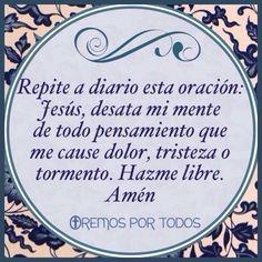 Oración de liberación.