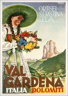 Val Gardena, Dolomiti / Ortisei, Santa Cristina, Selva