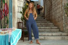 Lily James & # overall in & # Mamma Mia! Hipster Outfits, 70s Outfits, Boho Outfits, Summer Outfits, Indie Outfits, Lily James, Mamma Mia, Thanksgiving Outfit, Does Your Mother Know