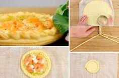 La merveilleuse tartelette saumon-poireau-mozzarella - La Recette Mozarella, Tartelette, Entrees, Tacos, Fish, Quiches, Ethnic Recipes, Desserts, Simple