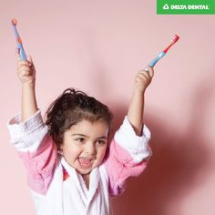 Letting the kids choose their toothbrush can help encourage them to use it! #DeltaDental #KidsHealth
